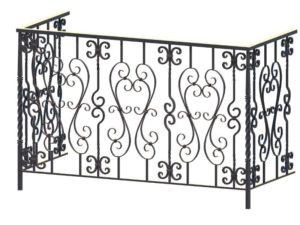 Кованые балконные ограждения и решетки