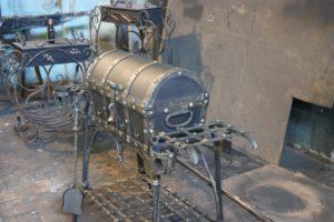 Мангал сундук на колесах по эксклюзивному проекту