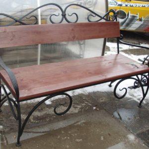 Кованые скамейки для сада и дачи