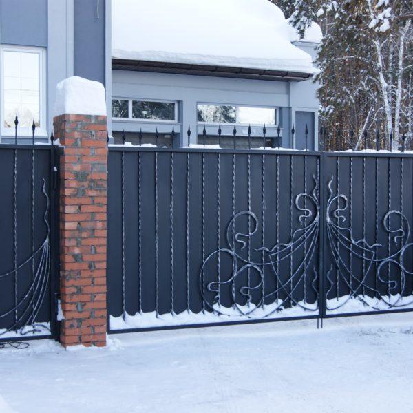 кованые ворота Новосибирск