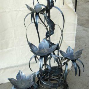 подставка под цветы подсвечник ковка