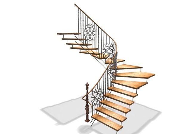 Лестничные перила 019