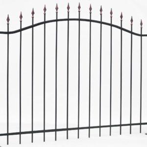 Сварной забор  - арт.01