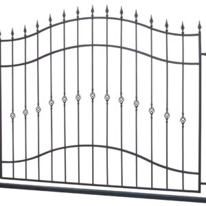 Сварной забор из прутка 05
